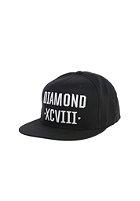 DIAMOND XCVII Snapback Cap black