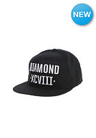 DIAMOND XCVII Snapback Cap black