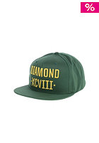 DIAMOND XCVII Snapback Cap green