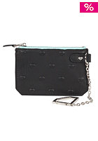 DIAMOND XL Embossed Chain Pouch Wallet green
