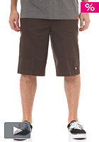 DICKIES 13 Multi Pocket Chino Short dark brown