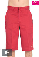 "DICKIES 13"" Multi-Pocket Chino Short english red"