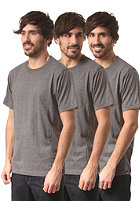 DICKIES 3 Pack S/S T-Shirt drk grey mel
