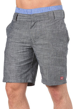 DICKIES C 183 Salt & Pepper Shorts navy blue