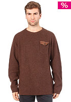 DICKIES Clinton Knit Pullover chocolate brown