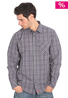 DICKIES Denton Shirt charcoal/ash grey/bishop