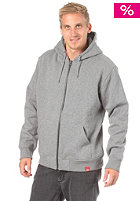 DICKIES Jaylin Hooded Zip Sweat dark grey melange