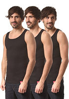 DICKIES Proof 3 Pack Tank Top black