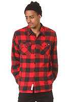 DICKIES Sacramento L/S Shirt red