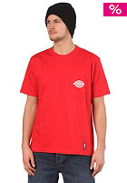 DICKIES SF DK Pocket S/S T-Shirt fiery red