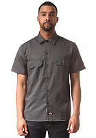 DICKIES Short Sleeved Work S/S Shirt charcoal grey