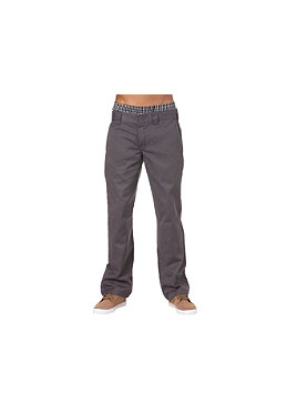 DICKIES Slim Straight Work Chino Pant rinsed steel gray
