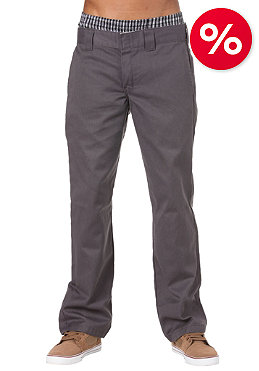 DICKIES Slim Straight Work Pant rinsed steel gray