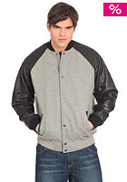 Springfield Stadium Jacket grey melange/black