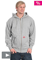 DICKIES Thermal Line Hooded Fleece Zip Sweat ash grey