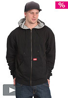 DICKIES Thermal Line Hooded Fleece Zip Sweat black 