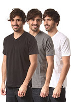 DICKIES V-Neck Multi Colour 3 Pack S/S T-Shirt assorted colour