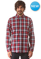 DICKIES Waldron L/S Shirt red
