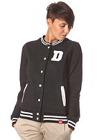 DICKIES Womens Ann Button Sweatshirt black