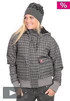DICKIES Womens Leanne 6.6 Jacket grey melange/charcoal