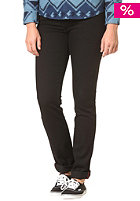 DICKIES Womens Lowrise Pants rinsed black