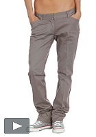 DICKIES Womens Svelte Chino Pant ash grey