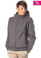DICKIES Womens Yosemite Dobby Jacket charcoal grey