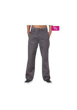 DICKIES Work Washed Pant rinsed steel gray
