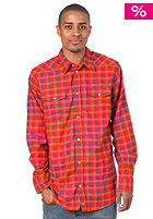 DICKIES Wray L/S Shirt fiery red