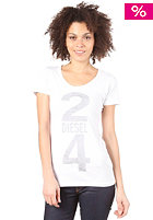 DIESEL Manga T-Shirt wei