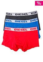 DIESEL Shawn Three Pack Boxershort black/red/blue