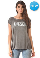 DIESEL Womens Ale S/S T-Shirt washed black