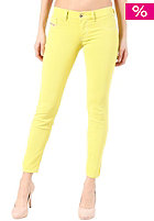 DIESEL Womens Livier Ankle Denim Pant yellow