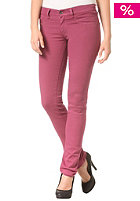 DIESEL Womens Livier Denim Pant burgundy