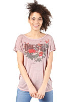 DIESEL Womens Livy E S/S T-Shirt pink