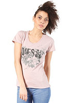 DIESEL Womens Manga AA S/S T-Shirt pink
