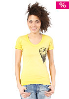 DIESEL Womens Manga Q S/S T-Shirt yellow