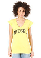 DIESEL Womens Portula Z S/S T-Shirt yellow