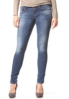 DIESEL Womens Skinzee-Low 0826F Denim Pant mid blue