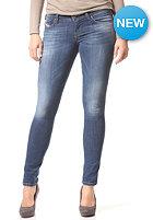 DIESEL Womens Skinzee-Low 0826F Denim Pant mid blue
