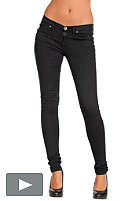 DR. DENIM Womens Kissy Pant black