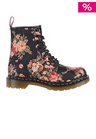 DR. MARTENS Womens 1460 Victorian Flowers Boot black
