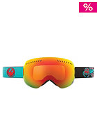 DRAGON APXS Snow Goggle pirates collab red ion