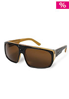 DRAGON BLVD Sunglasses jet amber tortoise brnz