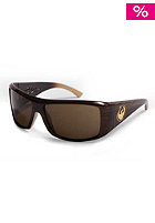 DRAGON Calaca Sun Glasses mocha stripe bronze