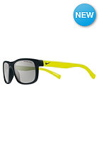 DRAGON Champ Glasses matte black/volt w/grey lens