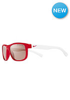 DRAGON Champ Glasses unvrsty red/white w/vrmlln lns