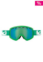 DRAGON D1 Snow Goggle solid green green ion