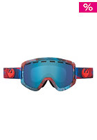 DRAGON D1 Snow Goggle water color blue steel