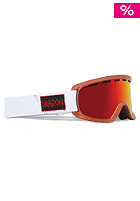 DRAGON D2 Goggle hog wild red/red ionized/rose